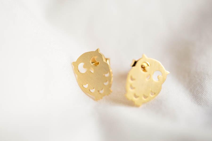 fe8bf932b51 Open Your Own Store · flat owl earring