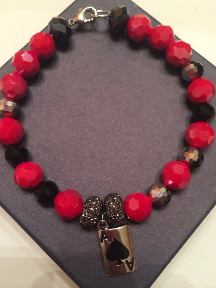 Mens Ace of Spade Bracelet · Madisons Creations · Online