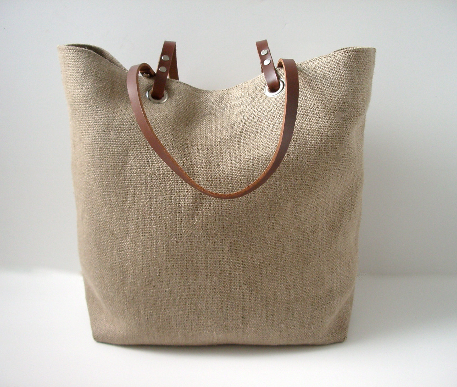 Woven Jute Beach Bag Summer Bag On Storenvy