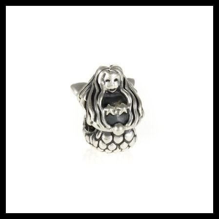 8f6baf224 AUTHENTIC PANDORA Mermaid .925 Sterling Silver European Charm Bead - Item No.  791220 Free