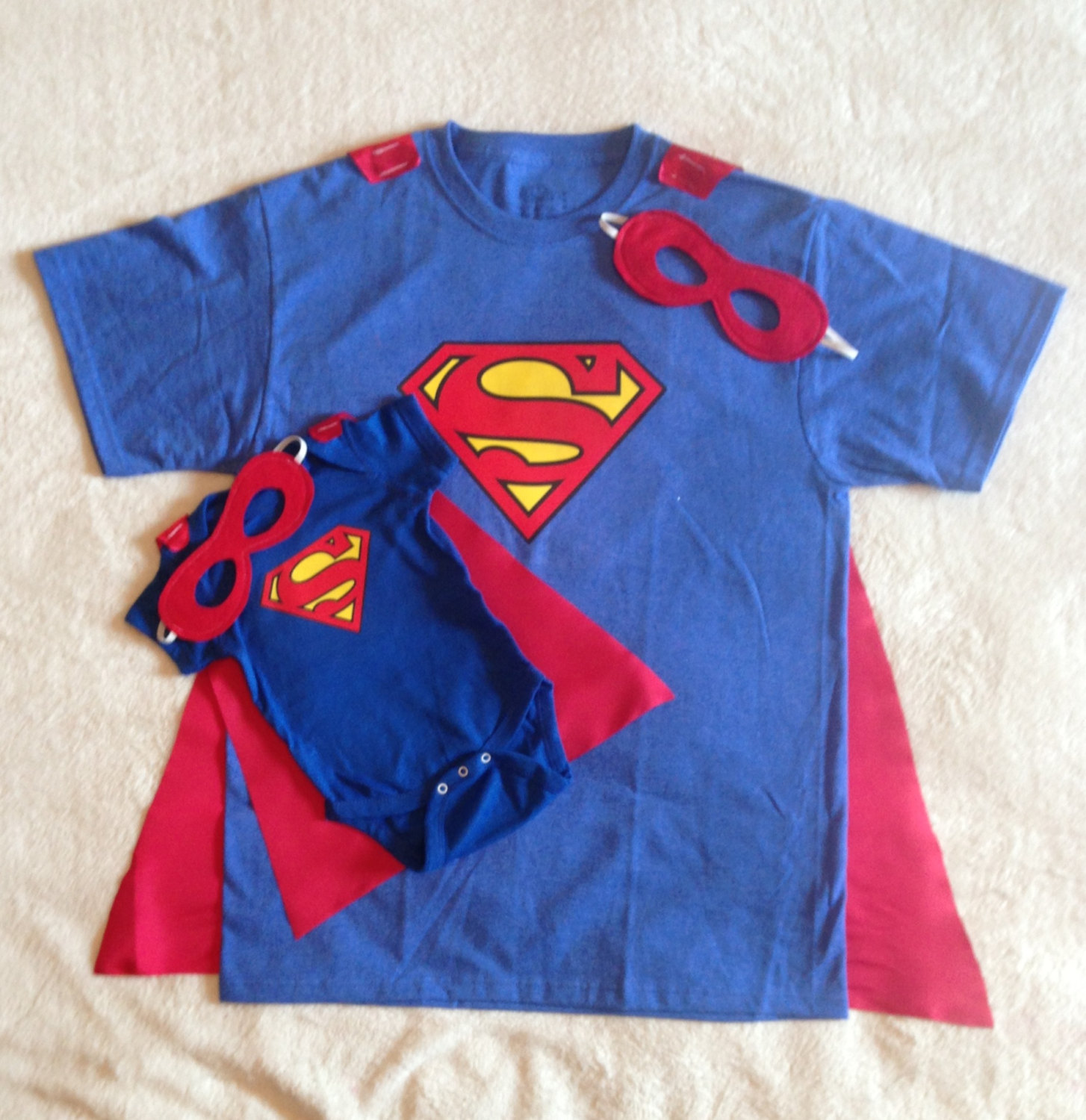e56fd81e1 New Dad Gift Set or New Big Brother, Superman T-Shirt with Cape and ...
