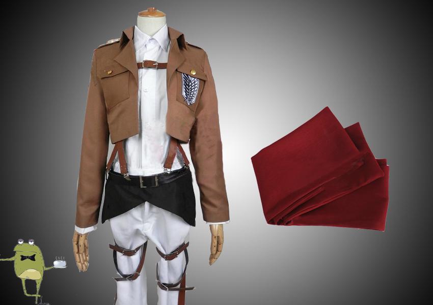 Attack On Titan Mikasa Ackerman Cosplay Costume Wig