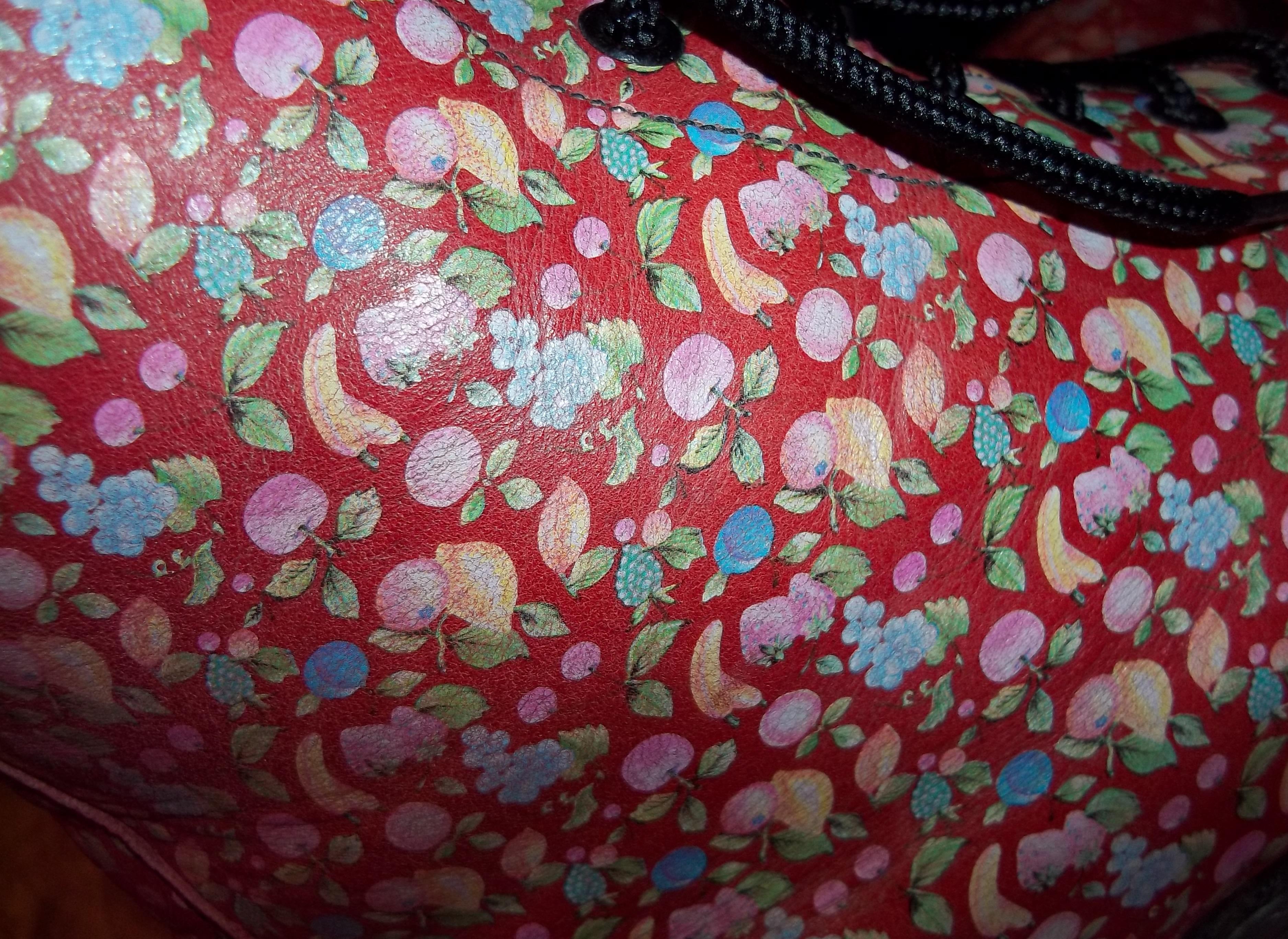22005090ce1 ... RARE Vintage 90s Fruit Dr Doc Martens - Hippy Unique Floral - UK 7*EU  ...