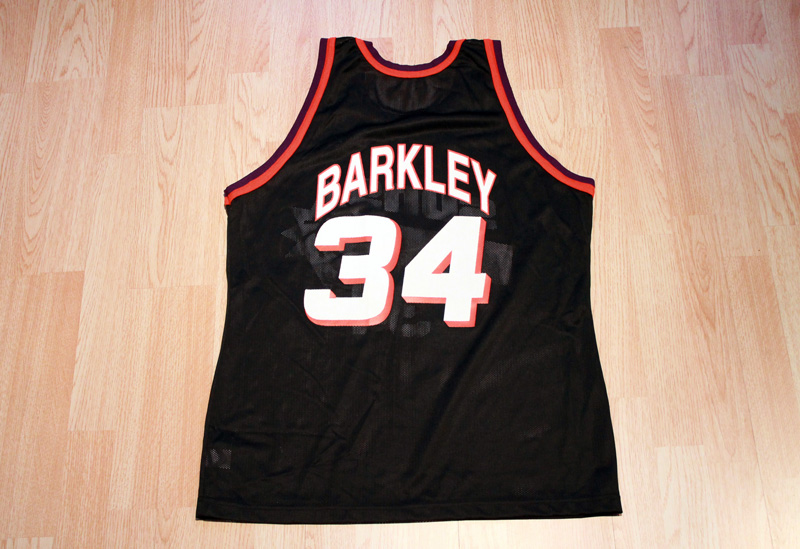 separation shoes e2dd2 bd6d4 Charles Barkley Suns Jersey from SLAM! Vintage