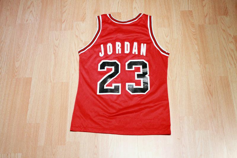 super popular a39bf 9c885 Michael Jordan Bulls Jersey from SLAM! Vintage