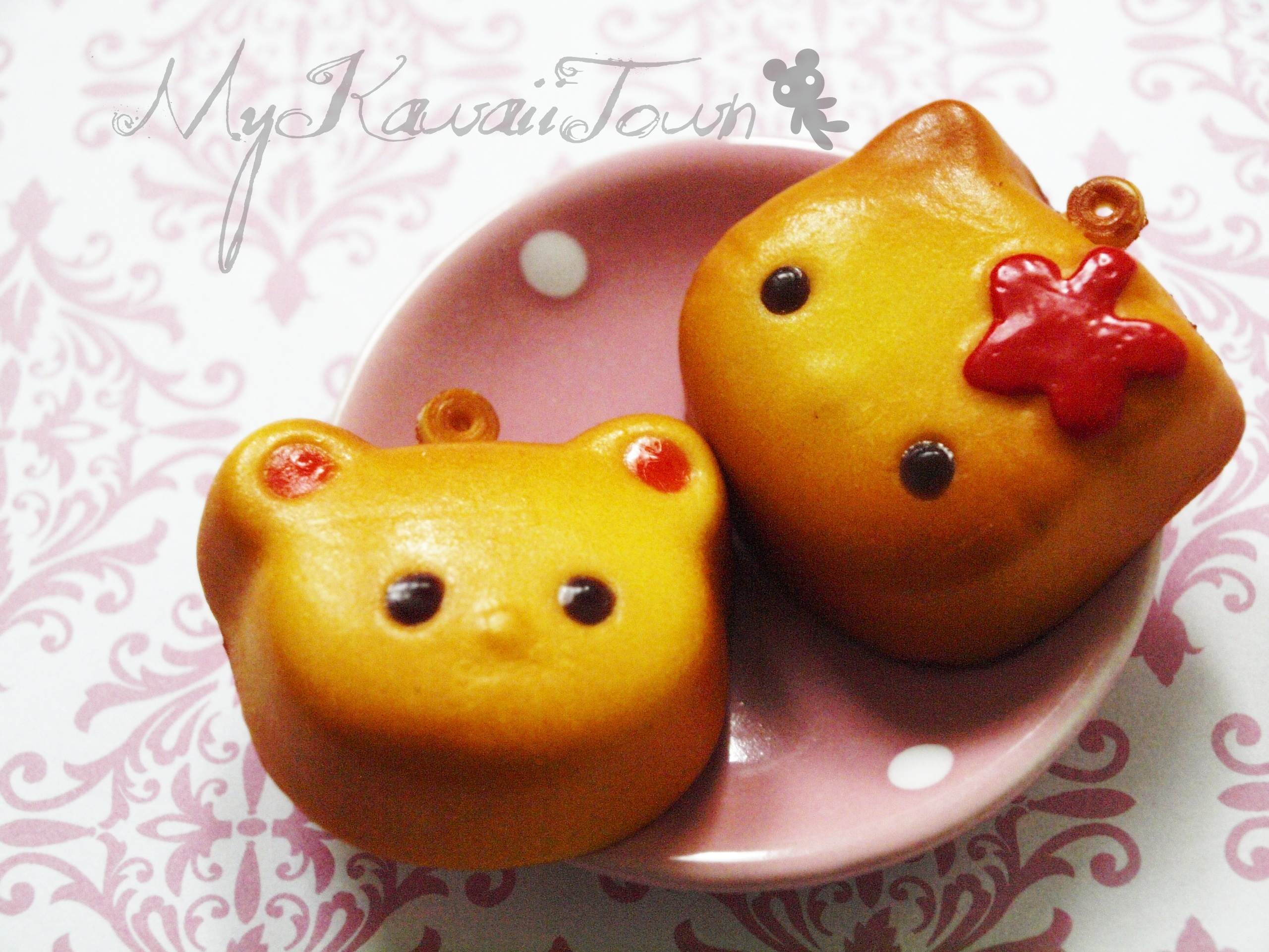 Hello Kitty Amp Teddy Mooncake Squishies On Storenvy
