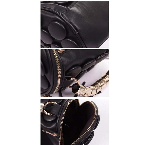 a0ab7f93572f ... Casual Party Solid Button PU Leather Shoulder Bags Cross-body Women  Handbags - Thumbnail 3 ...