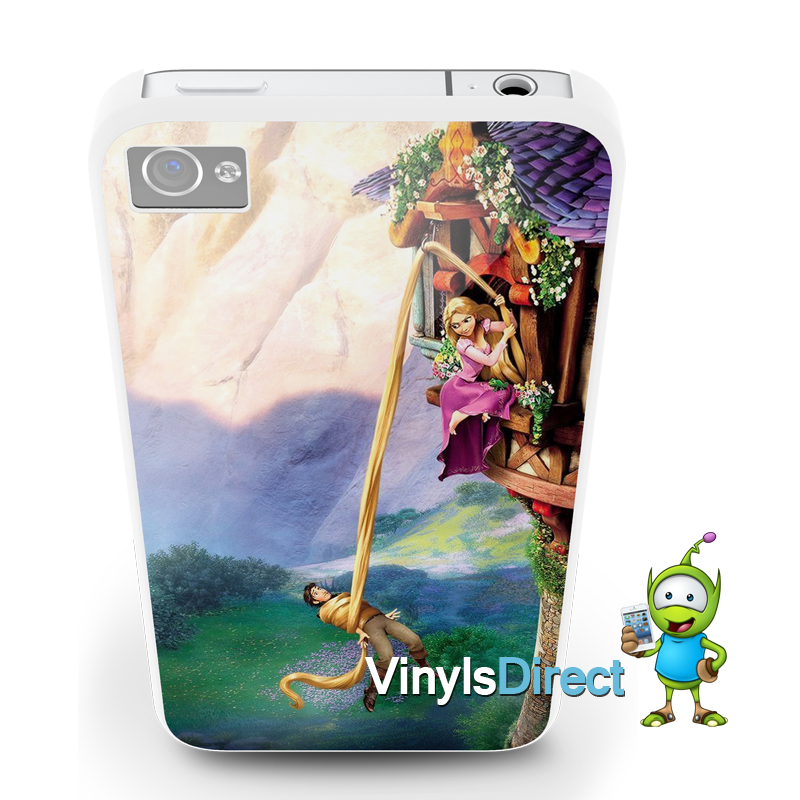 huge discount 1c21f 59638 Disney Tangled Rapunzel Phone Case for iPhone 4/s or 5/s