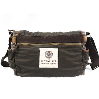 a8fb5a6f4b ... Thumbnail 1  Vintage waxed canvas cross messenger bags mens - Thumbnail  2 ...