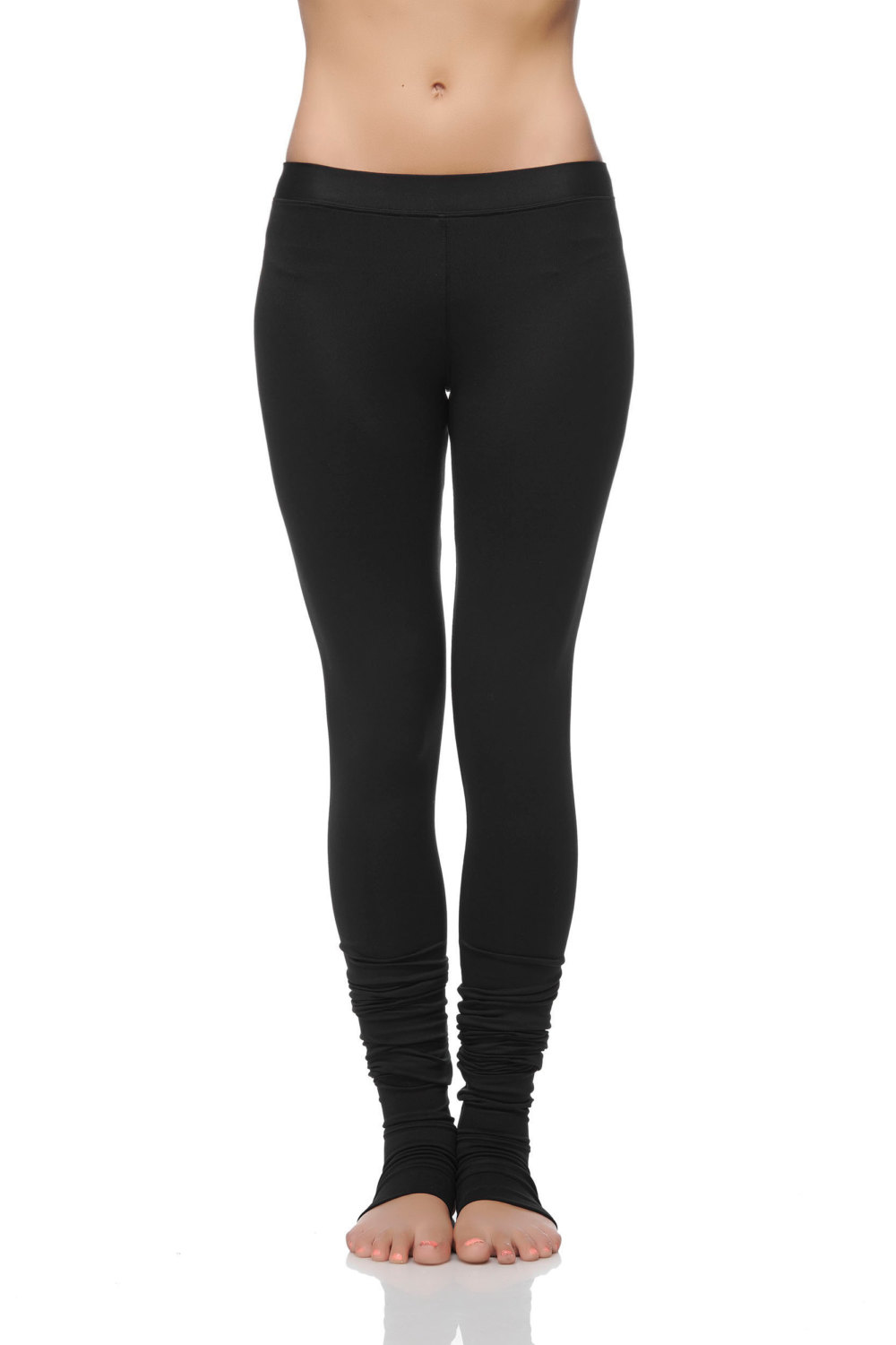 0e940d2a4 ... Extra Long Yoga Leggings - Special Leggings with Spats - Women  39 s  Yoga ...