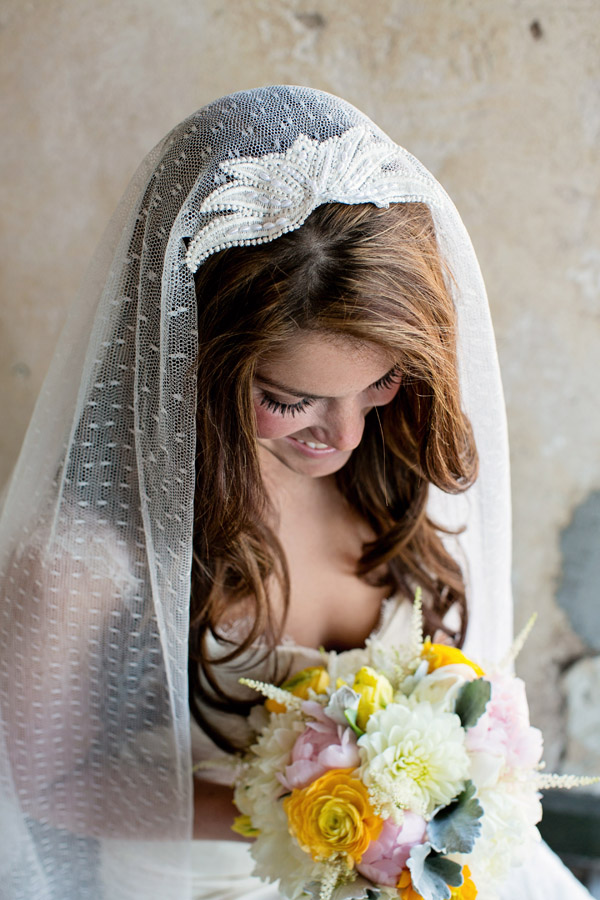 4be75684b1 Ivory Swiss Dot Bridal veil