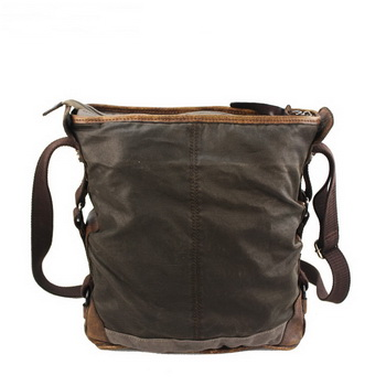 8ca7aa2aa9601 Rustic pigskin and waxed canvas bucket bags daypack unisex · Vintage ...