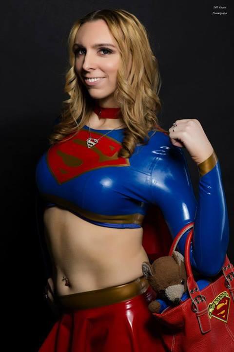 Wonderwoman and Latex Supergirl by lumonic on DeviantArt