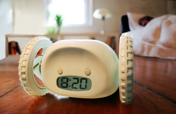 Clocky Alarm Clock on Wheels sold by fheimin on Storenvy
