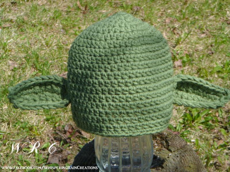 Teen To Adult Yoda Crochet Hat Star Wars Beanie On Storenvy