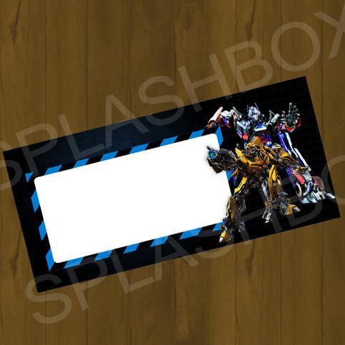 Transformers Bumblebee And Optimus Prime Printable Diy