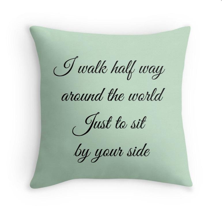 Lyric dave matthews lyrics : Dave Matthews Band Pillow Cover, Cushion Cover, Decorative Pillow ...
