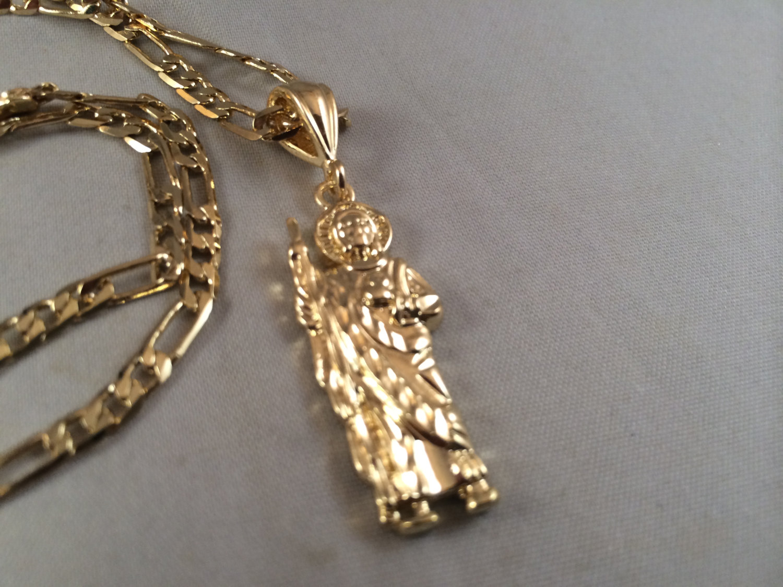 San judas cadena oro rosario sinaloense medalla tadeo st jude gold il fullxfull644111805 h8fs original mozeypictures Gallery