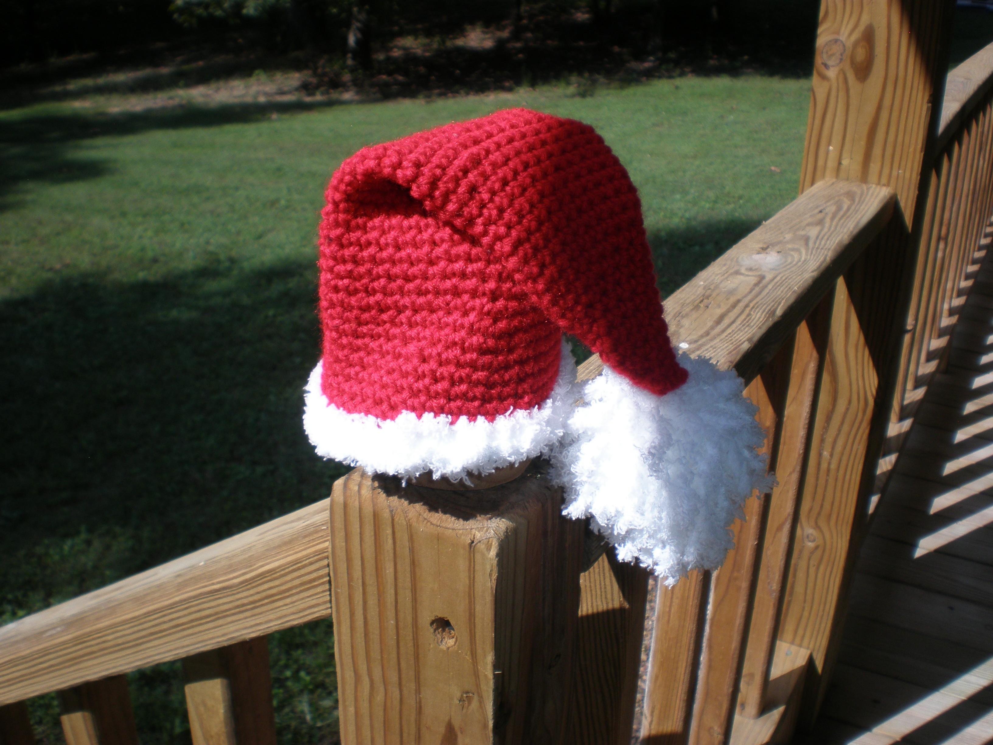 e11dfbf7b Crochet santa hat   diaper cover · CuteNCuddly Crochet · Online ...