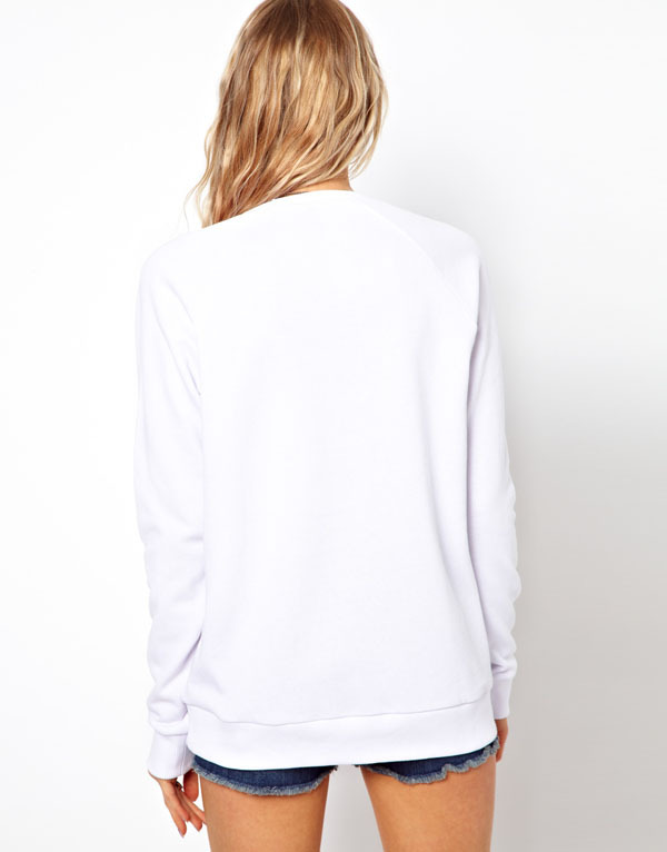 Haoduoyi star horse unicorn gorgeous color patterns printed round neck long  sleeved white t shirt 20 4b1481ce7