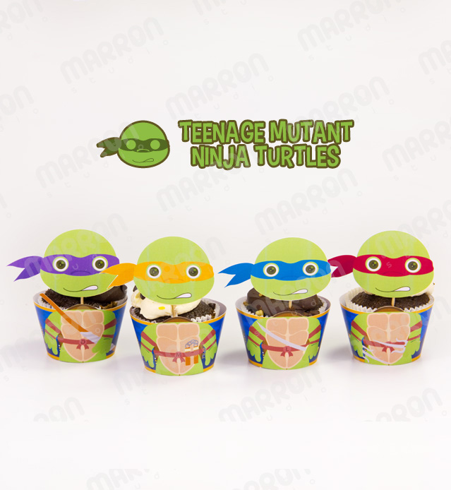 Marron Studio | Teenage Mutant Ninja Turtles Inspired ...
