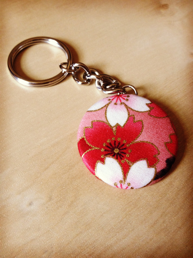 Fabric Keychain Key Fob - Choose Your Own Fabric - Custom Order  Customizable from Monostache