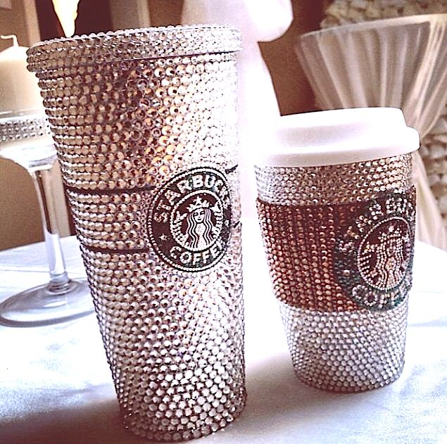271a023e312 CUSTOM HAND MADE CRYSTALIZED STARBUCKS COLD CUP TUMBLER MUG (GRANDE  STARBUCKS COLD CUP) on Storenvy