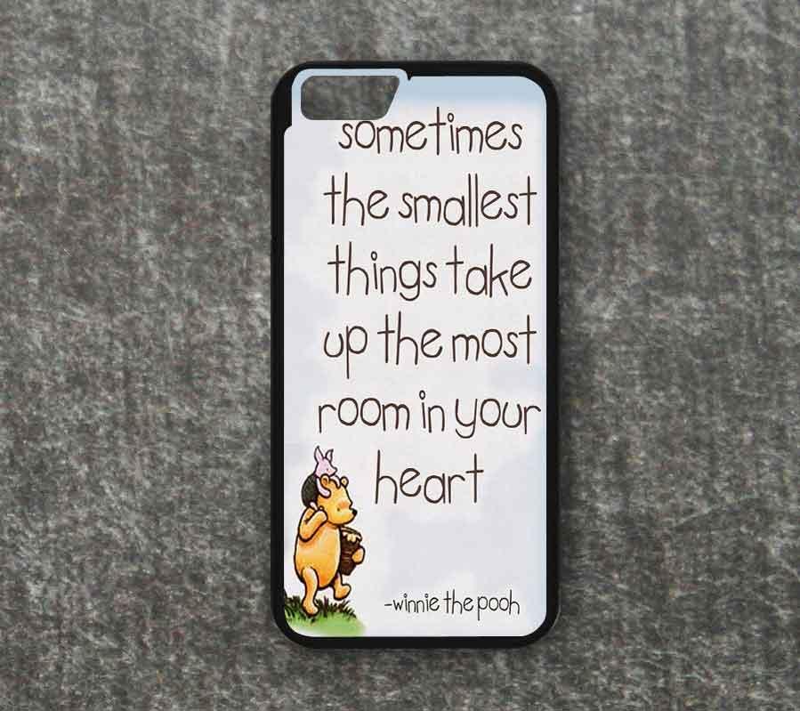 WINNIE THE POOH QUOTE Disney iphone case