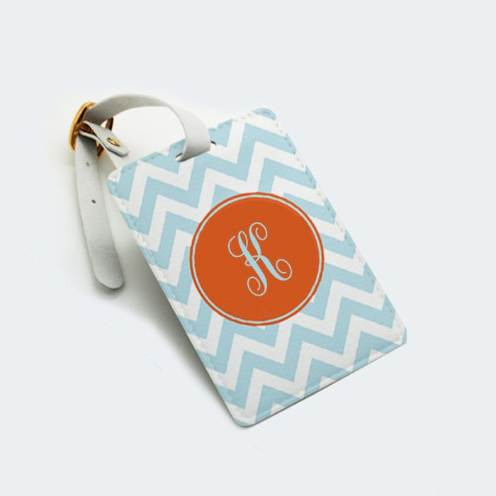 Personalized Luggage Tags Wedding Gift: Personalized Luggage Tag, Bag Tag, Travel Tag, Nametag