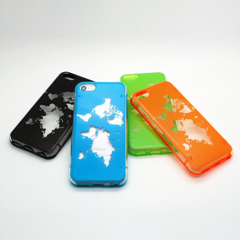 Iphone 6 World Map Case.Iphone 5c Case Iphone 5 5s Case Iphone 6 6 Plus Case Half