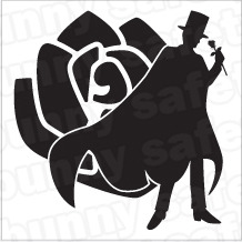 Tuxedo Mask Make Up 183 Safety Bunny S Decal Shop 183 Online