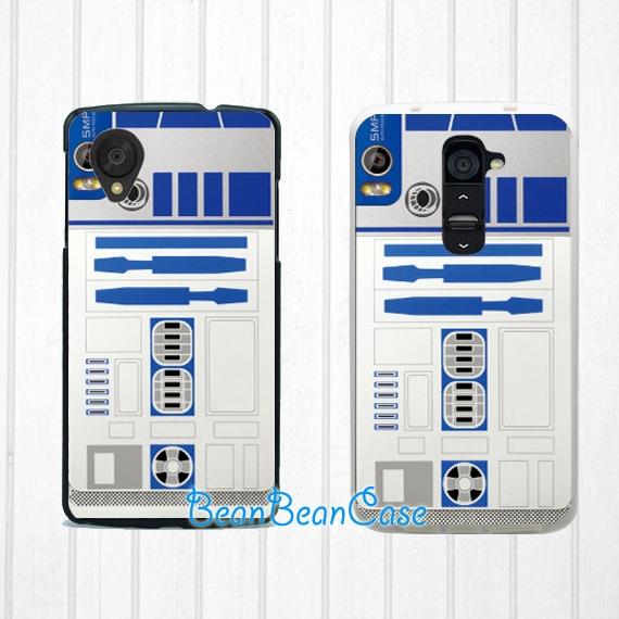 R2D2 star wars case for iPhone 7/6/6s/5/5s/5c, Samsung S6/Note5, Sony, LG  Nexus, Nokia Lumia, HTC One M8/M9, Moto X Moto G (K18) from BeanBeanCase