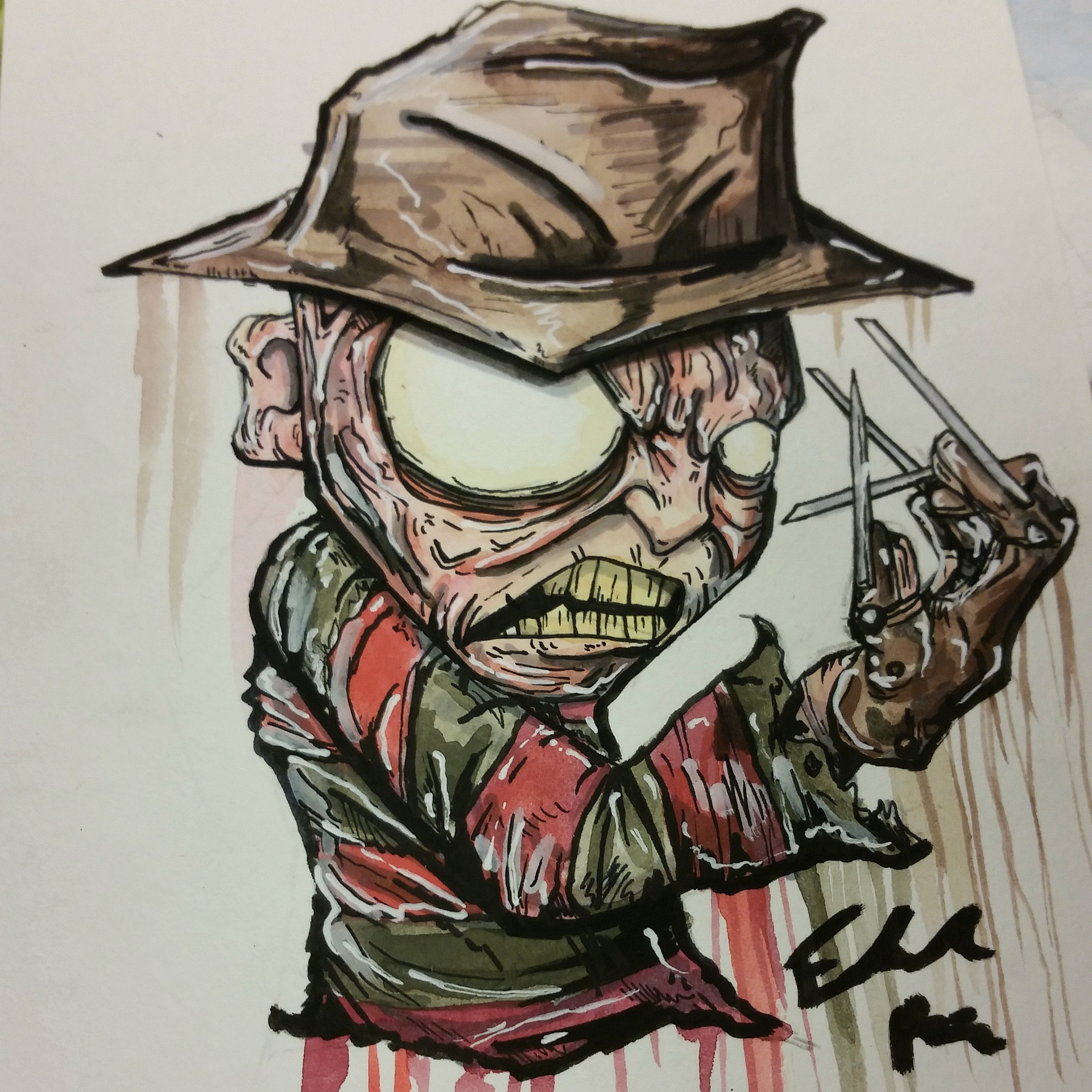 a2aa8d1a438 Freddy Kruger print · Taco Boy Designs · Online Store Powered by ...