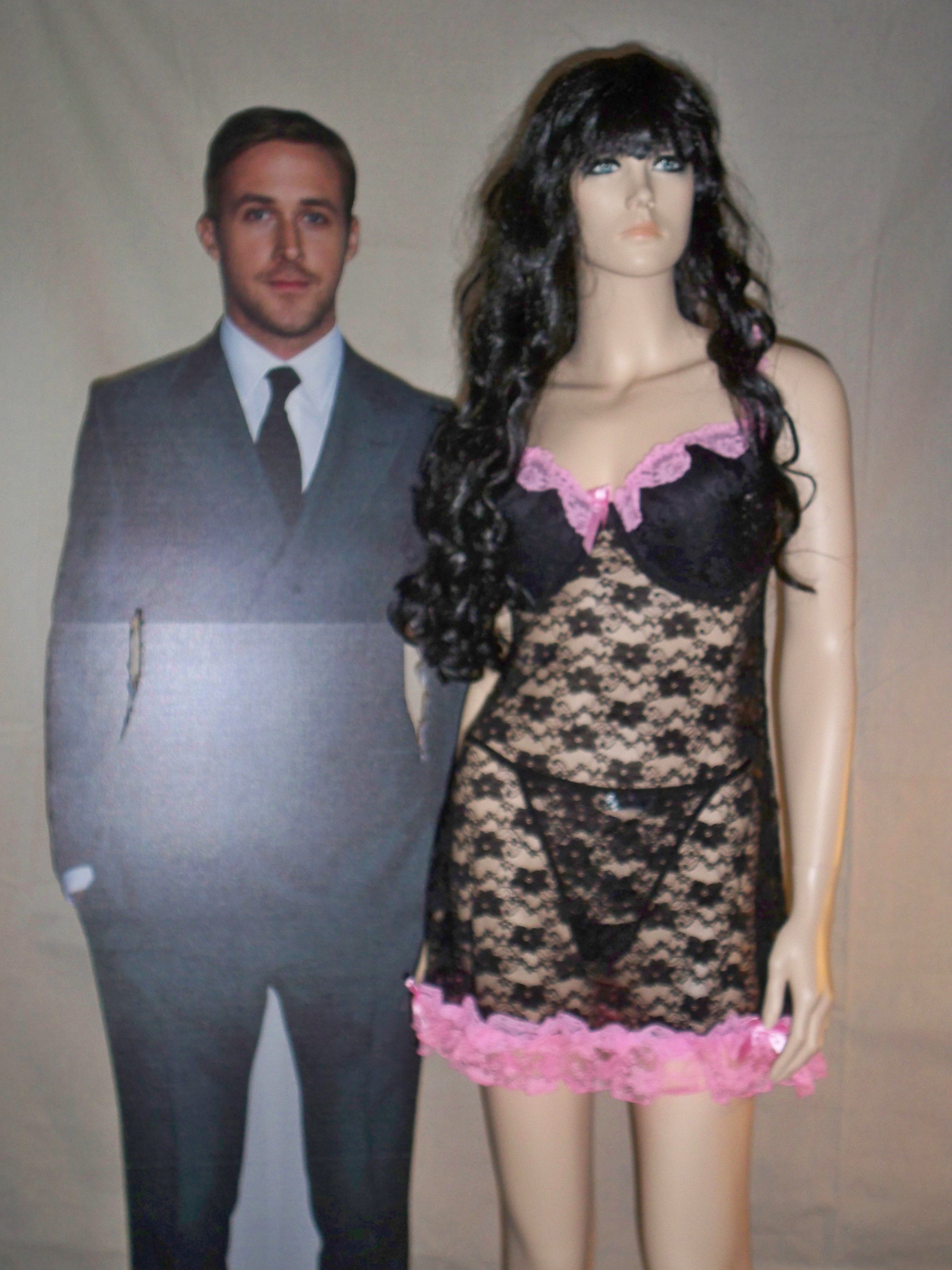 ec96a83f86d Plus Size Lace Baby-doll with G-String on Storenvy