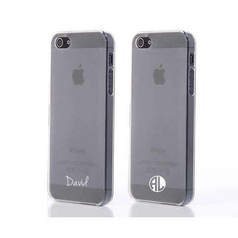 personalized iphone cases two cases pair custom personalized name monogram 3116