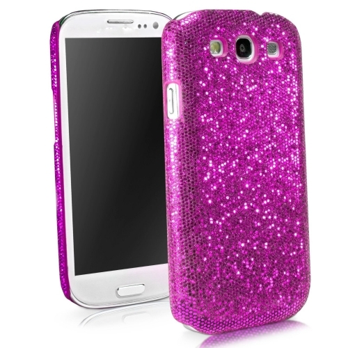 new style 24e4e 84785 Glitter Evening Dress Pattern Hard Case Cover For Samsung Galaxy S3 i9300 -  Rose