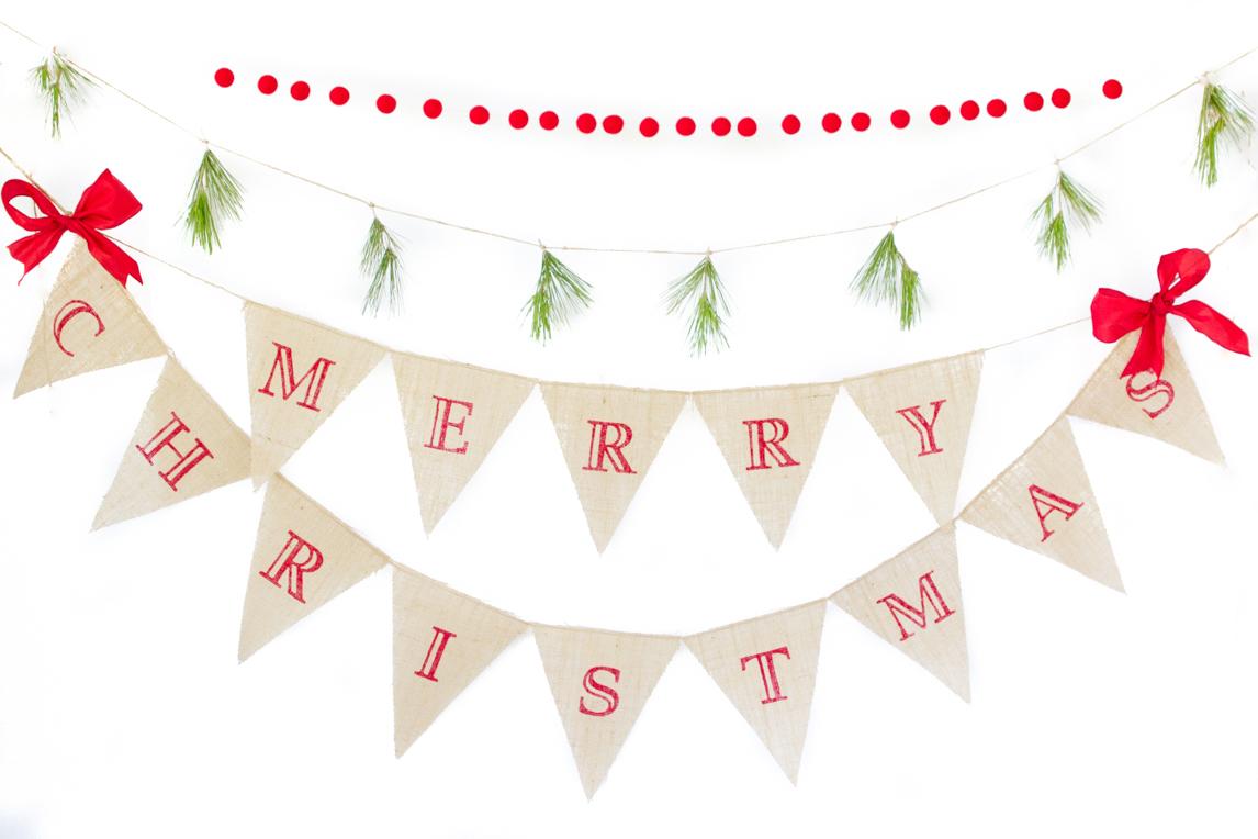 Merry Christmas Banner On Storenvy
