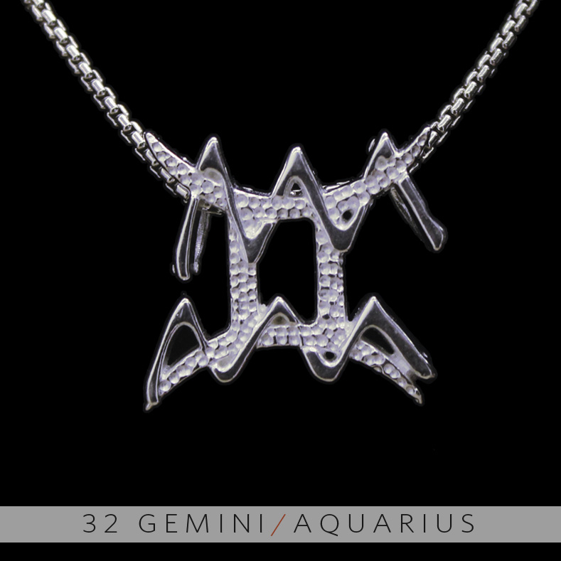 sign piece unique women pendant one astrology necklace constellation aquarius for daisies zodiac star item