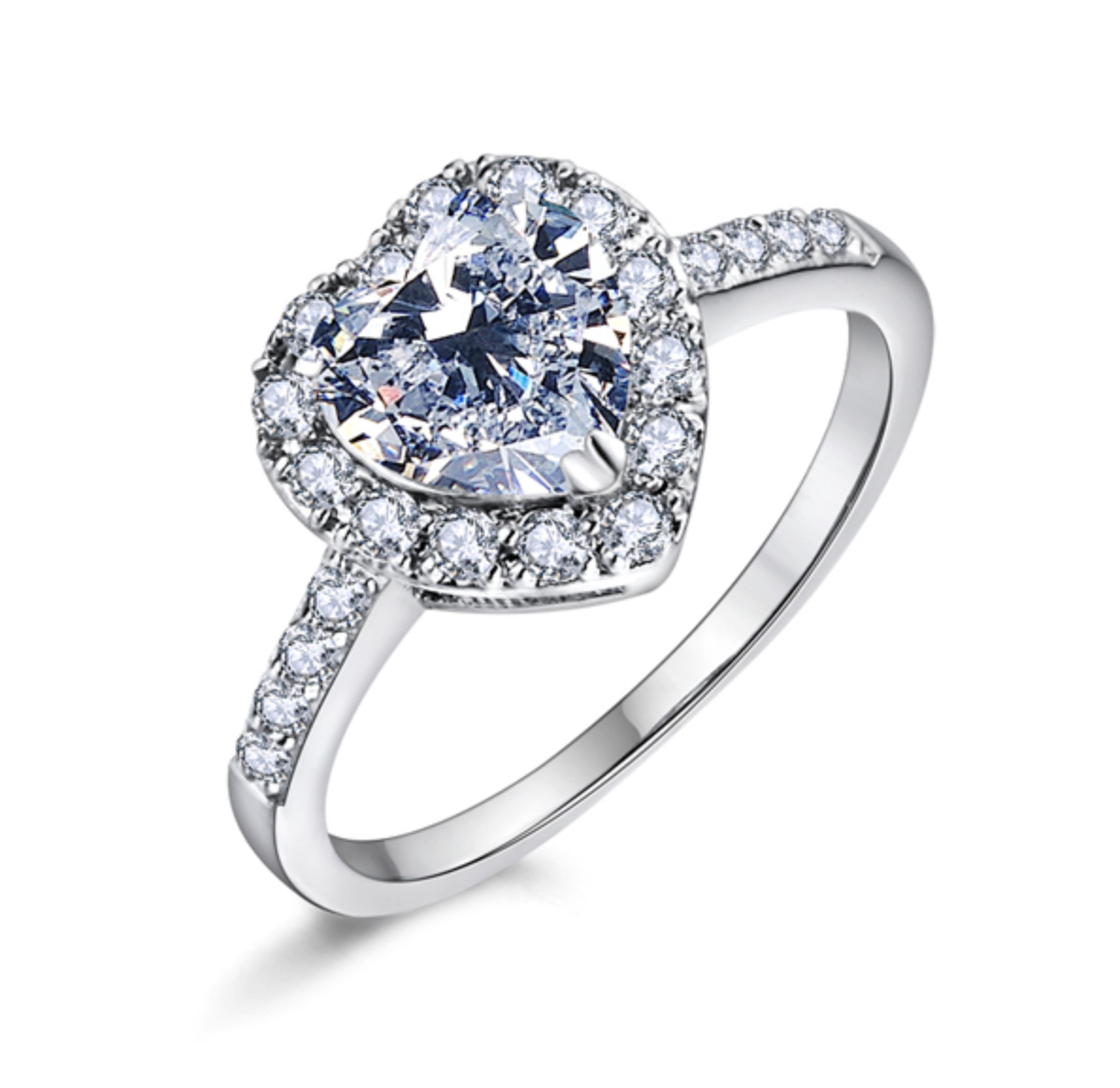 Fine Jewelry Collection: Heart Shaped ring♥ on Storenvy