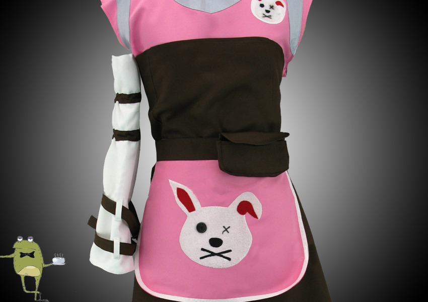 Details about  /NEW Tiny Tina from Borderlands 2 cosplay costume apron ////