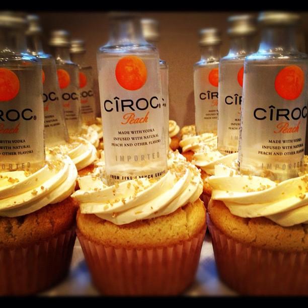 Ciroc Peach Cupcakes on Storenvy