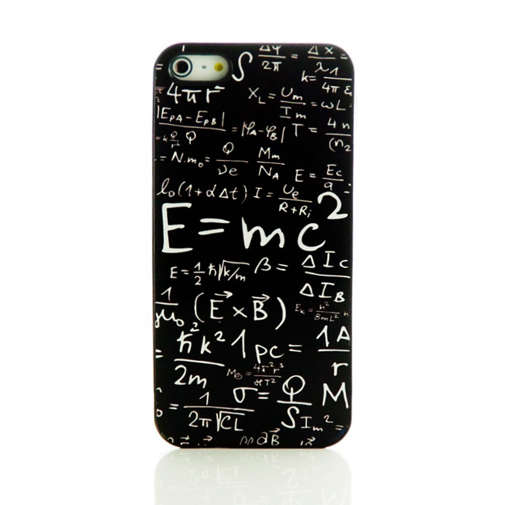 detailed look d111e c931a Yark Unique Black Hard plastic phone Case Cover with E=mc Formula Math  Einstein for iphone 4 4s 5 5s 6 6 plus mobile shell from DIY iphone case