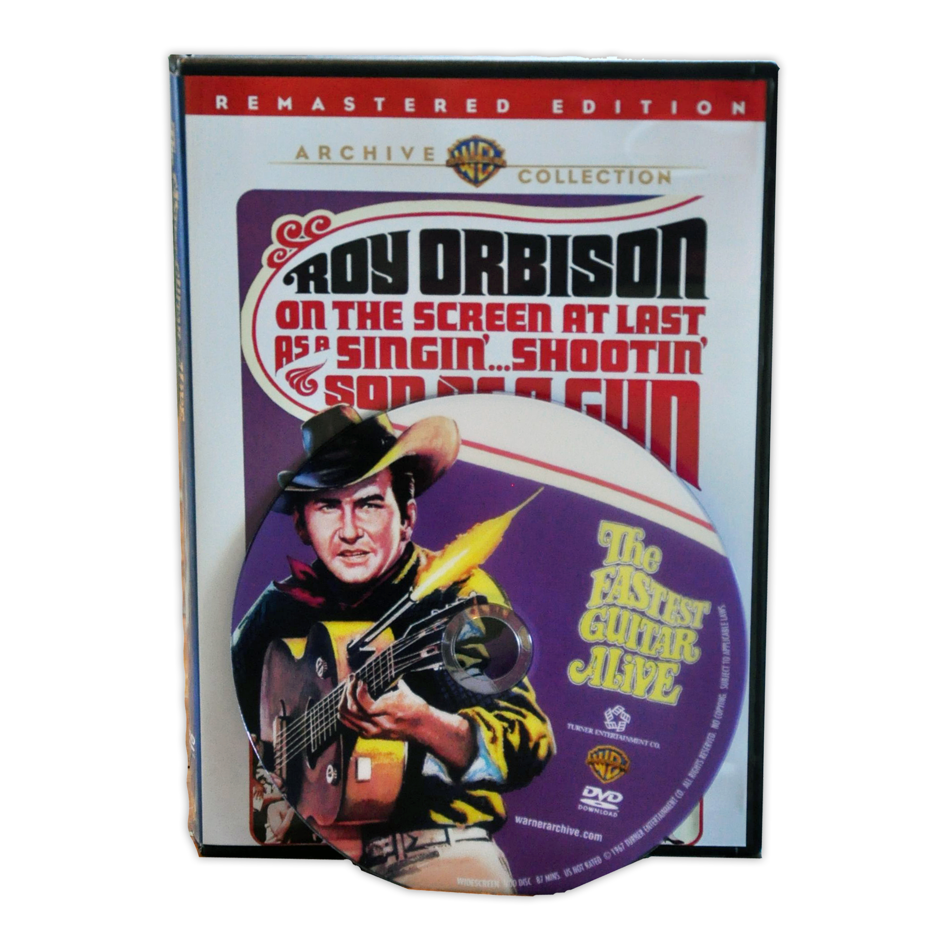 The Fastest Guitar Alive DVD from Roy Orbison Online Store