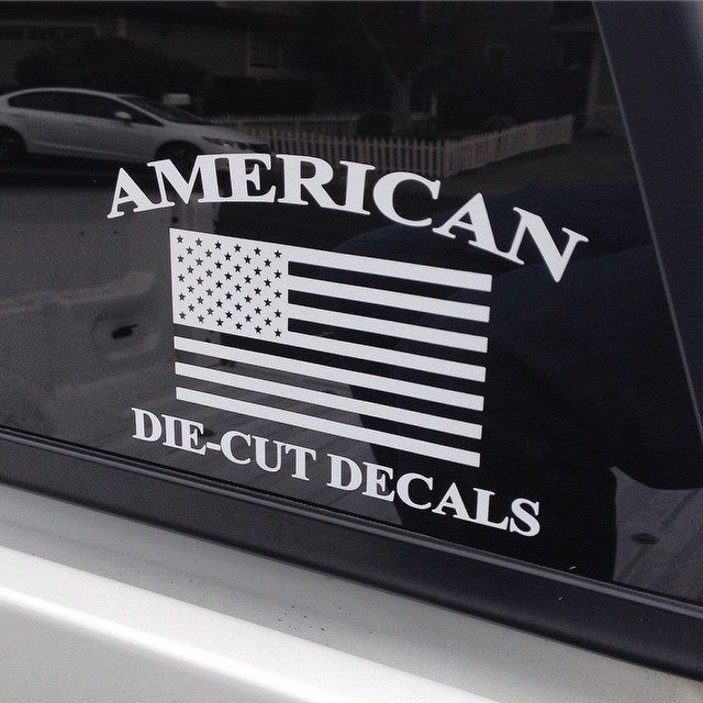 Adcd Logo Decal 183 American Die Cut Decals 183 Online Store
