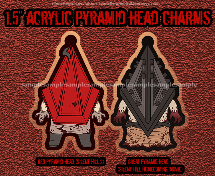 Silent Hill Pyramid Head Charms Sold By Shokolatte On Storenvy