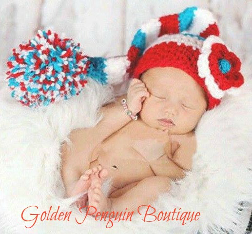 Cat in the hat newborn photo prop crochet thing one thing two crochet hat  dr seuss f8aff0f359a