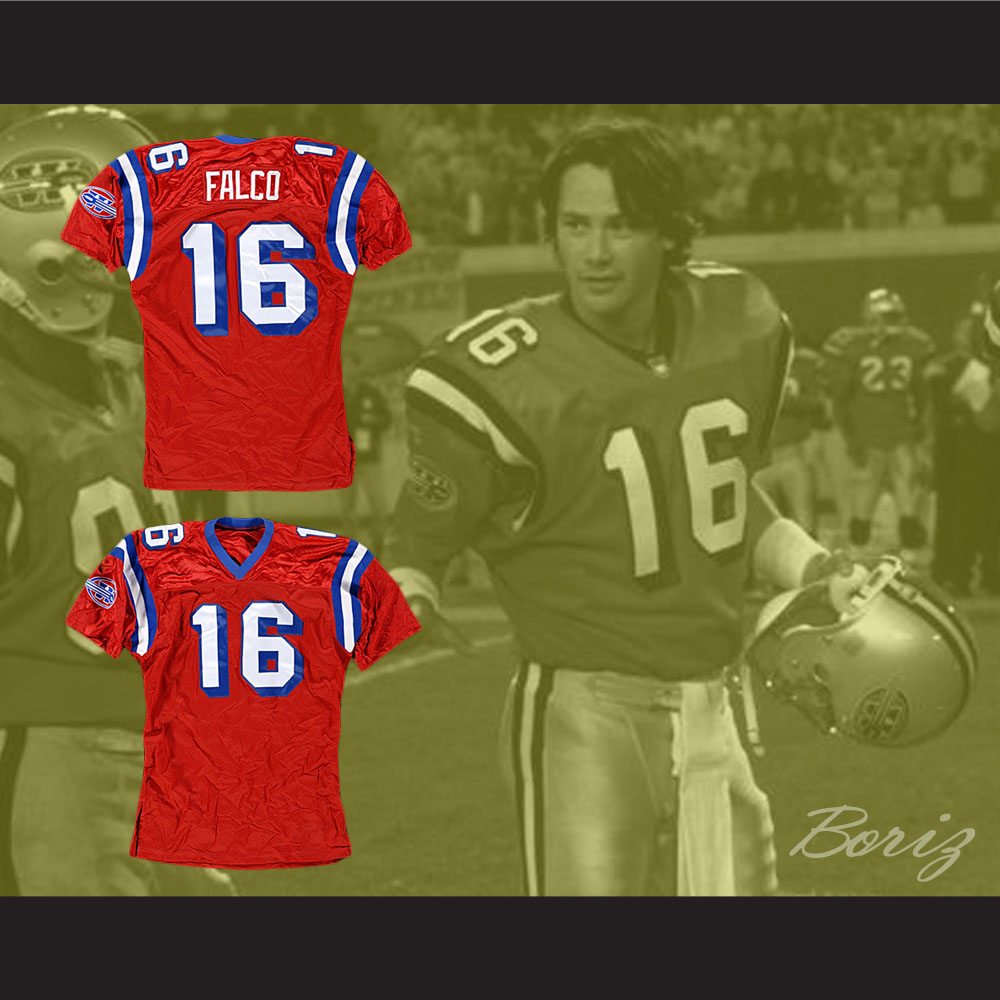 4afa35afd38 ... The Replacements Shane Falco 16 Sentinels Football Jersey - Thumbnail  ...