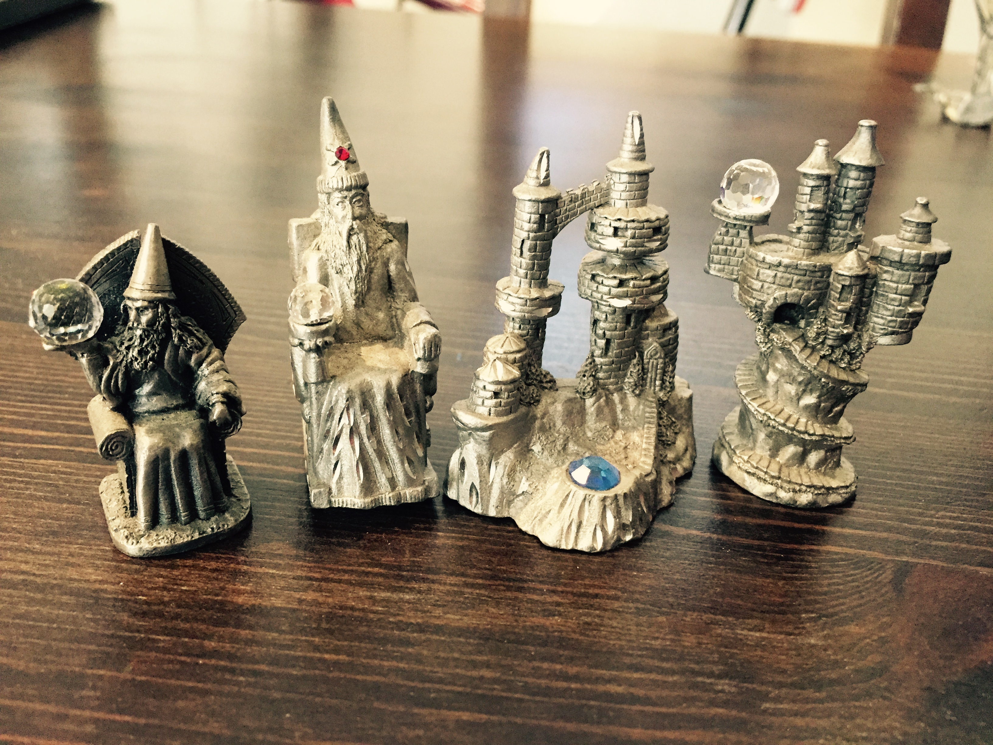 (Mostly) Spoontiques Pewter Figurines