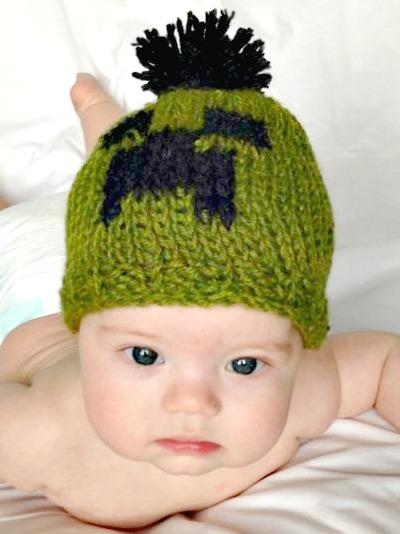 dfb88644ca1 Minecraft Creeper Baby Beanie on Storenvy