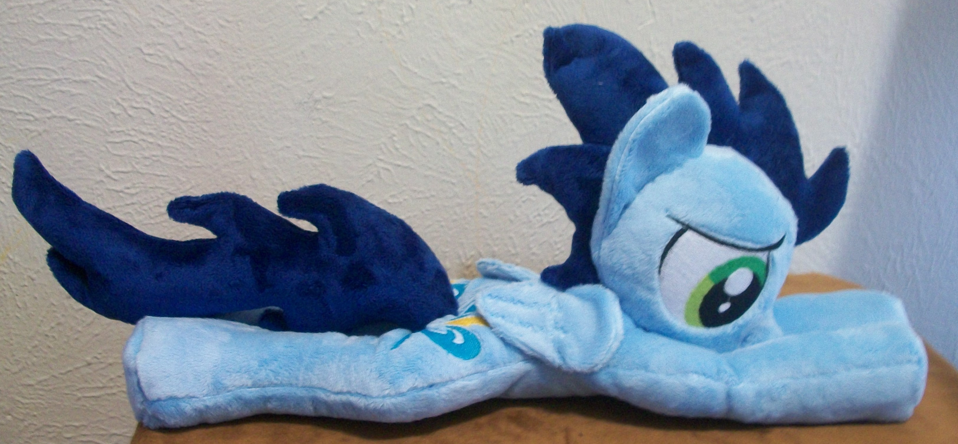 My Little Pony Soarin FanArt Plush beanie Shoulder pony stuffed